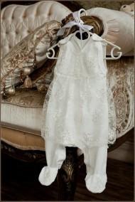 Babypollo Нарядный полукомбинезон-платье на кокетке 2-021