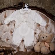 Babypollo Комбинезон нарядный с кружевным болеро  2-014