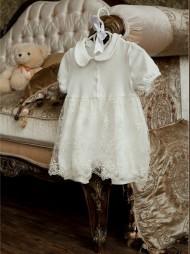 Babypollo Нарядный песочник-платье 2-024